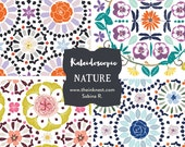 CLIP ART  - Kaleidoscopic Nature - for commercial and personal use