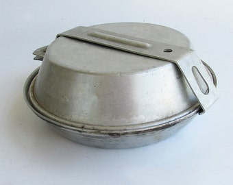Mid Century Official Boys Scout Mess Kit - Cooking Set