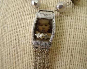 Altered Vintage OOAK Necklace