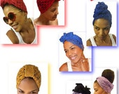 Crochet Head Wrap & Turban Pattern COLLECTION - Crochet Turban - Crochet Hair Wrap - Crochet Bandanna  Summer Crochet - Crochet E-book