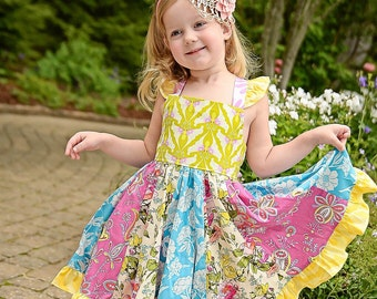 Belle Organic Twirl Dress