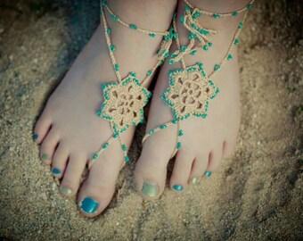 Boho Barefoot Sandals