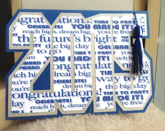 2015 Graduation Card - custom color available