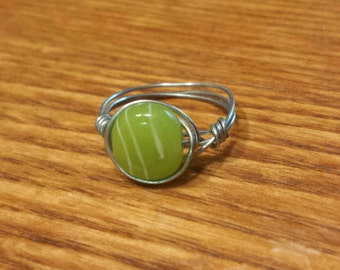 Ring Lime Green