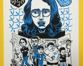 Freaks and Geeks Harris Master screen print