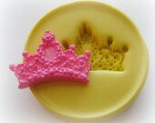 Silicone Crown Charm Mold DIY Jewelry PMC Resin Polymer Clay Fondant Molds