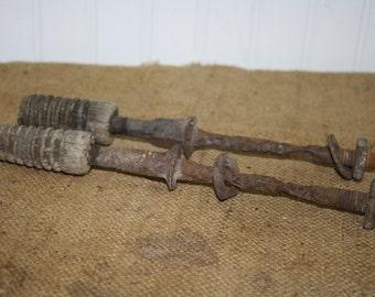 Metal Insulator Pegs - Insulator Poles -  set of 2 - item #1149
