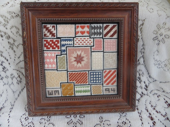 Small Counted Cross Stitch Picture Quilt Patterns Needlework