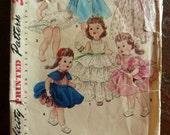 """4908 Simplicity 23"""" Doll Pattern Bonny Braids Walker Saucy Walker"""