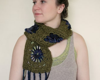Croched scarf