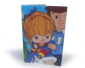 Rainbow Brite Passport Cover - Upcycled Vintage Comic in Vinyl