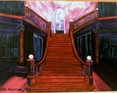 Loftus Hall 30 by 40 oil painting