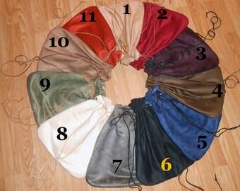 F040   Men's Medieval Renaissance 2X Large Drawstring Bag Pouch