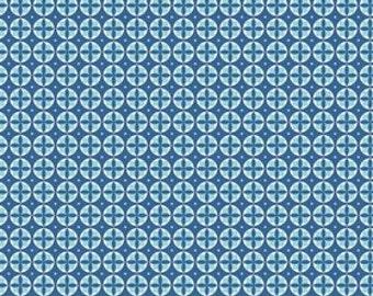 Modern Circles Blue by Riley Blake