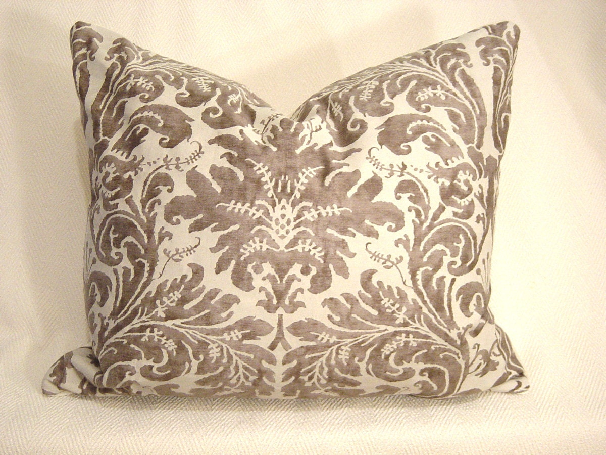 Throw Pillow Fabrics : Mariano FORTUNY fabric Throw Pillow 1 Authenic Lucrezia
