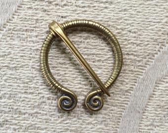 Viking penannular Shawl Pin