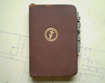 Science and Health with Key to the Scriptures - 1934 - by Mary Baker Eddy - with original Abbott Book Marker
