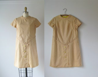 vintage 1960s dress / 60s dress / Bread & Butter