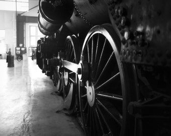 Those old train wheels