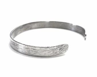 Stainless Steel Bracelet, Cuff, Adjustable Bracelet, Metal Bracelet, BLB 10