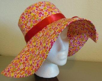 Springtime Floral Sun Hat