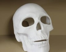 Ceramic Skull (Bisque) Ready to Paint