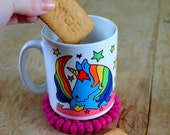 Unicorn mug today you must sparkle! designer stoneware cup