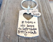 Teacher's Gift - Personalized Teacher's Gift - Hand Stamped Teacher's Keychain - Teacher's Keychain - Teacher Appreciation