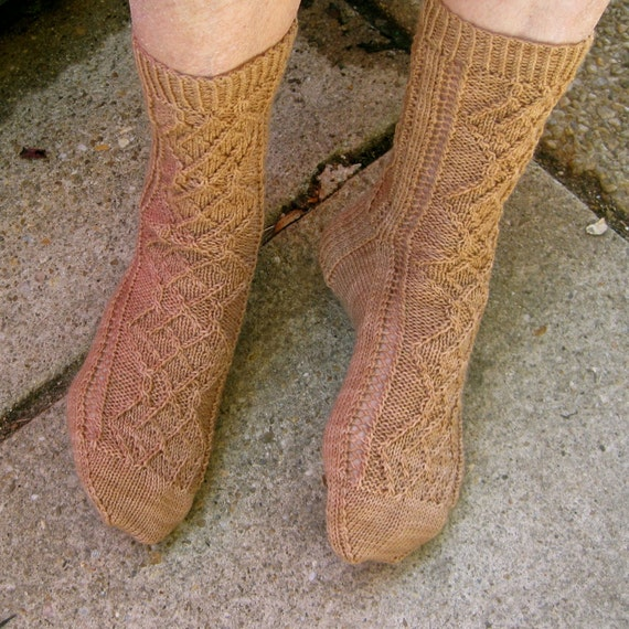 Knit Sock Pattern: Madam Curies Favorite by ...