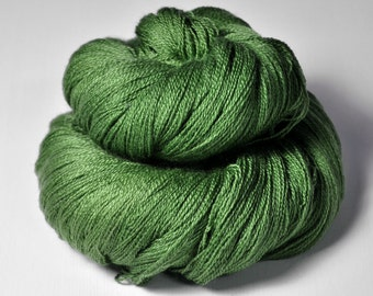 St. Patrick's day parade gone awry - Merino/Silk/Cashmere Fine Lace Yarn