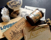 Vintage French Souvenirs  from Lourdes