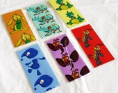 Small Cute Creatures Bookmarks - 6 Designs Available