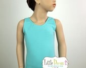 CHILD (Aqua) Tank Leotard