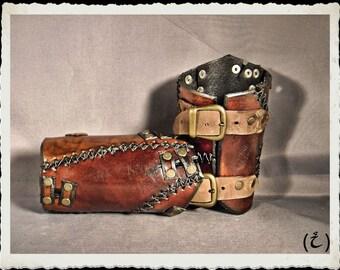 Leather bracelets - Wild -