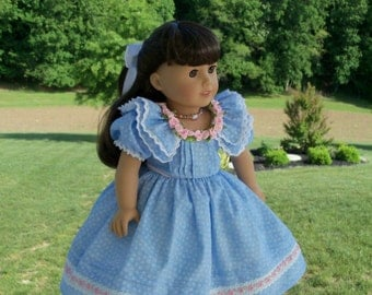 """PDF Sewing Pattern / Samantha's Tea Party / Sewing Pattern for 18"""" Dolls"""