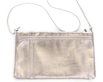 Metallic Pale Gold/Silver Vintage Handbag