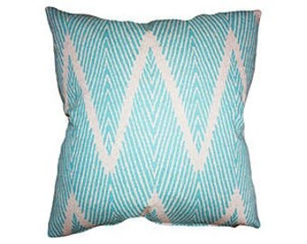 Ikat chevron  pillow cover select your color and size