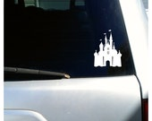Cinderella's Castle/ Vinyl Sticker Decal/ Car Decal/ Disney Castle/ Disney World