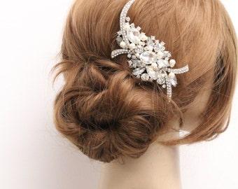 Wedding hair comb pearl,Bridal hair accessories,Wedding hair jewelry,Bridal hair piece,Wedding comb pearl,Wedding hair accessories,Bridal
