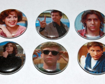 The Breakfast Club Button Badge 25mm / 1 inch