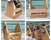 Handcrafted 6 pack carrier
