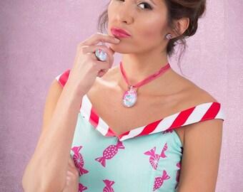 Candy dress By TiCCi Rockabilly Clothing