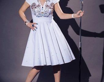 Elvis Inspired wedding dress By TiCCi