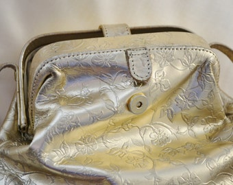 Purse Vintage Boho Festival Paris Chic Gold
