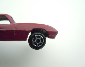 Tootsie Toy Car Purple Sports Car