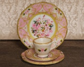 Miniature Pink Regency Dishes Kit