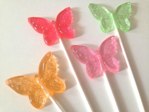 Butterfly Lollipops 8 pieces