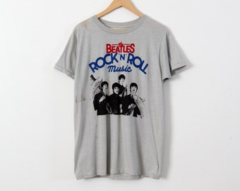 vintage Beatles Rock N Roll Music t-shirt
