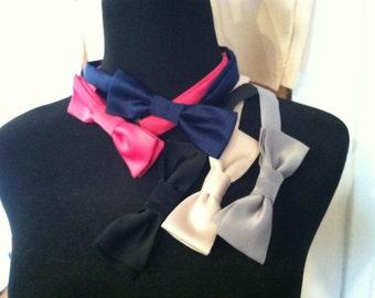 bow ties,men's adjustable satin bow ties, wedding, special occasion