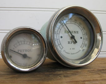 Classic Instruments Petrol Gauge - Robins Egg Blue - *RPM Gauge not included